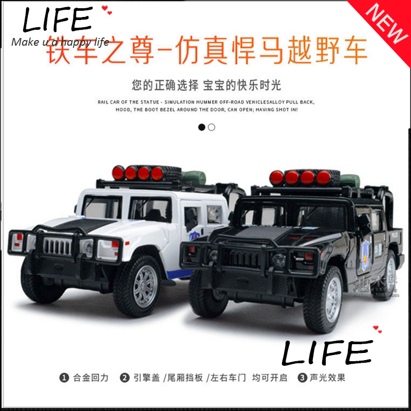 hot sale big show suv alloy model for kids toys wholesale luxurious off road cop