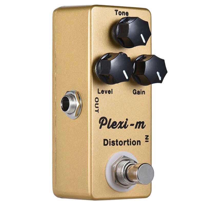 Image 5 - MOSKY Plexi m электрогитара Педаль Эффекта Искажения гитарные части металлический корпус настоящий обходДетали и аксессуары для гитар   -