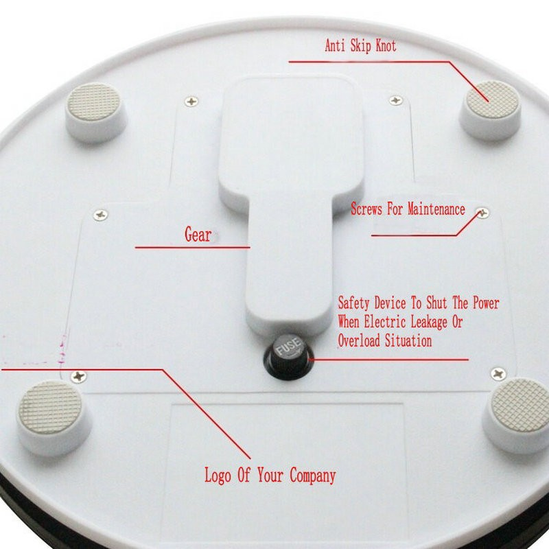 electric turntable display stand (6)