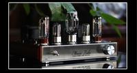 6N9P + EL34 + 5Z4P Audio Classe Un EL34 Single-ended Tube À Vide Amplificateur HiFi 2.0 Canaux Stéréo Puissance Amp 8Wx2