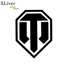 SLIVERYSEA WORLD OF TANKS Modified Car Decorative Reflective Stickers Flag Military Is Interested In The Tank Sticker