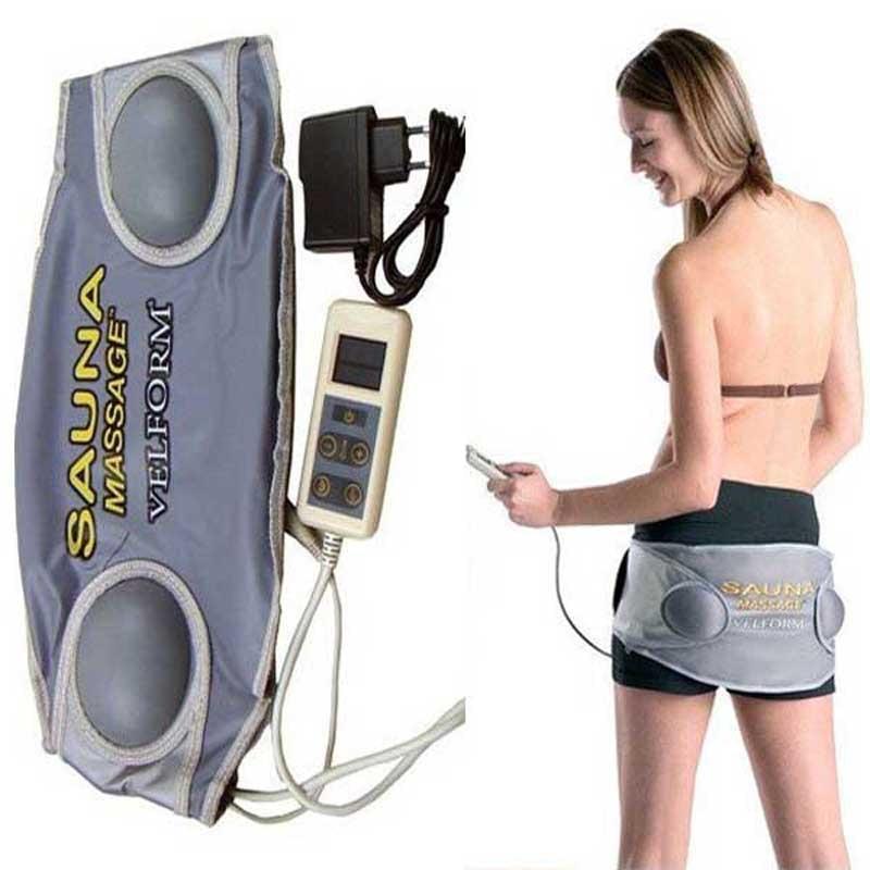 Electric Sauna Velform Slimming massager Waist Belt Sauna Fat Burning Vibrator Slimming Body Therapy Sculptor Massager Apparatus цены