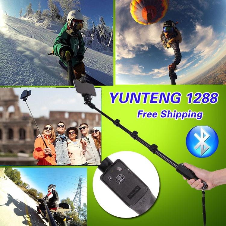 YUNTENG Monopod Öz Bluetooth Uzaktan Kablosuz Tripod Tutucu Kamera - Kamera ve Fotoğraf - Fotoğraf 6
