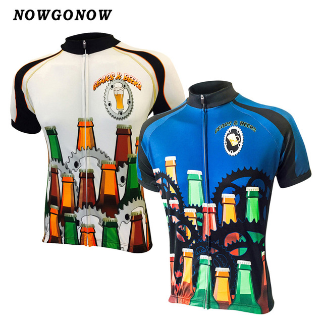 Nowgonow 2017 Ciclismo Jersey hombres Bicicletas historieta bicicleta pro  equipo carretera historieta maillot ropa ciclismo verano 07e4881e4