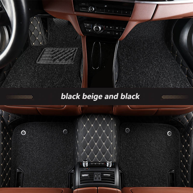 Interior Accessories Universal Car Floor Mats All Models For Zotye T600 2014-2018 Car Accessories Car Styling