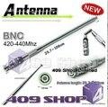Bnc UHF 420 - 440 мГц телескопическая антенна для TK100 TK200 TK320 IC-V8 IC-V80 IC-V82 IC-U82 HX320 HX400