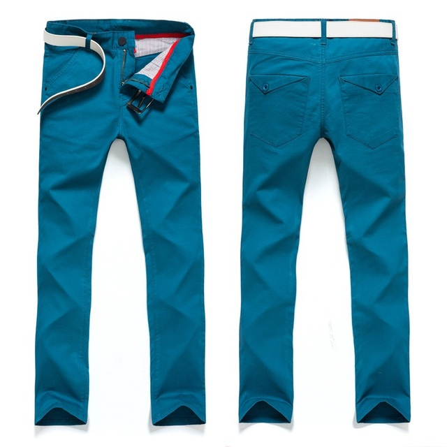 9 Color plus size 28-38 spring summer autumn outdoors mens trousers High quality pants male casual men pants