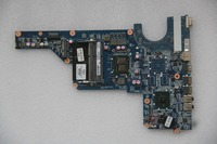 654118 001 For HP Pavilion G4 G6 G7 R18D Laptop motherboard DAR18DMB6D0 with I3 370M CPU Onboard HM55 DDR3 fully tested