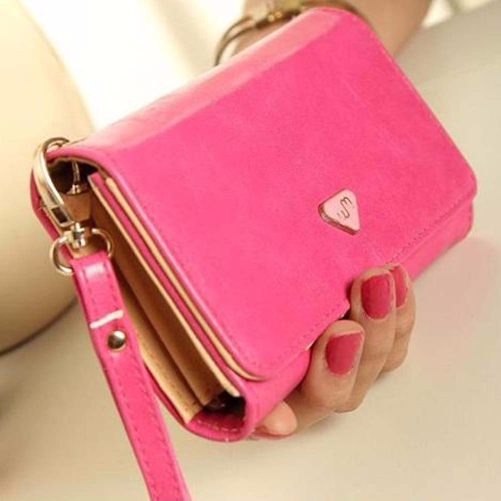 цена Carteras Mujer Women Wallet Clutch Wallet Female Case Phone Carteiras Femininas Money Bag Purse Card Holder Vintage онлайн в 2017 году