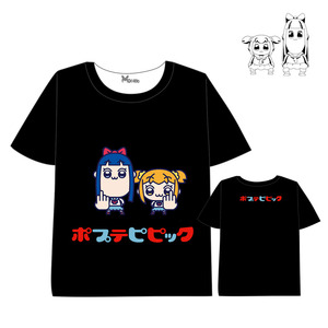 POP TEAM EPIC T-shirt Anime Fashion cartoon T-shirt Men Women Short Sleeve Summer dress Cartoon pop team epic t shirt