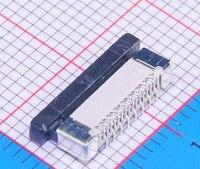 100 Pz/lotto 0.5mm 16 P Verticale Tipo FFC Presa FPC 0.5mm Passo Pin Connettore del Cavo Flessibile Piatto