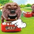 Atualizar o Novo Brinquedo Engraçado Cão Morder Dedo Família Jogo Desafio Interativo Crianças Brinquedo Da Novidade