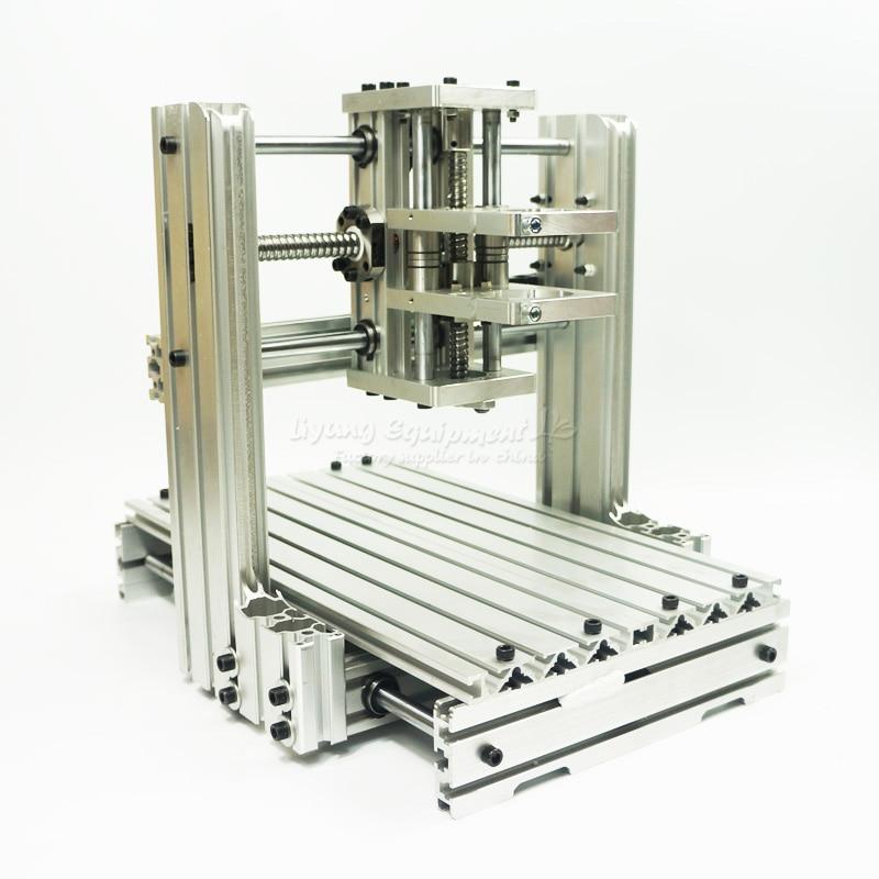 hot selling! DIY CNC machine 2520 Base frame kit cnc router Machine frame wood lathe diy cnc machine 2520 base frame kit cnc engraving machine router machine free tax to russia