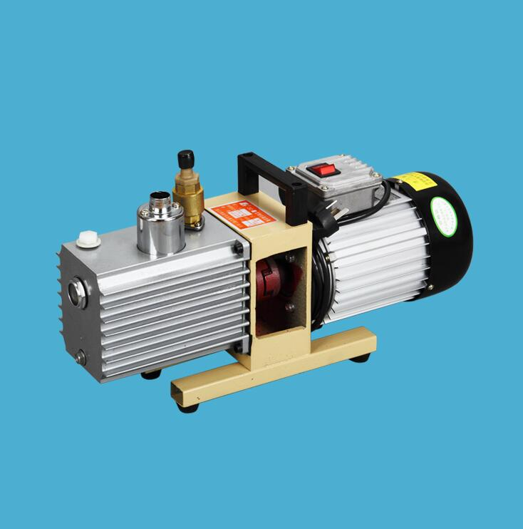 Rotary Vane Vacuum Pump 220V/50HZ 2XZ-2 Liter Double-stage Suction Pump Specialized For KO TBK LCD OCA Laminating Machine  4cfm 2016 dual stage rotary vane vacuum pump