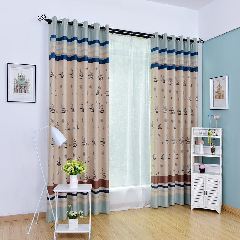 Window Curtain Blackout Children Room Curtains Underwater: High End Cute Photo Print High Blackout Rate Window