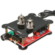 New Arrival HiFi Tube Stereo Audio Headphone Amp Amplifier Preamplifier Pre-Amp J0X2