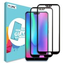 TOPK מסך מגן לכבוד 10 מזג זכוכית HD ברור מלא כיסוי מגן סרט לכבוד 10 מגן זכוכית