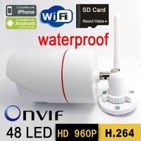 ip camera wifi 960P cctv security system wireless micro sd card outdoor waterproof hd door digital cameras onvif p2p infrared