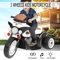 Child Electric Motorcycle Tricycle Rechargeable Toy Children Scooter Electric Motorcycle Foot Ride On Car Three wheel