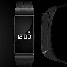 สร้อยข้อมือสมาร์ทอัตราการเต้นหัวใจความเมื่อยล้ารัฐIP54ติดตามบลูทูธชุดหูฟัง4.0สำหรับIphone6 IOS A Ndroidสายรัดข้อมือนาฬิกาPedometer