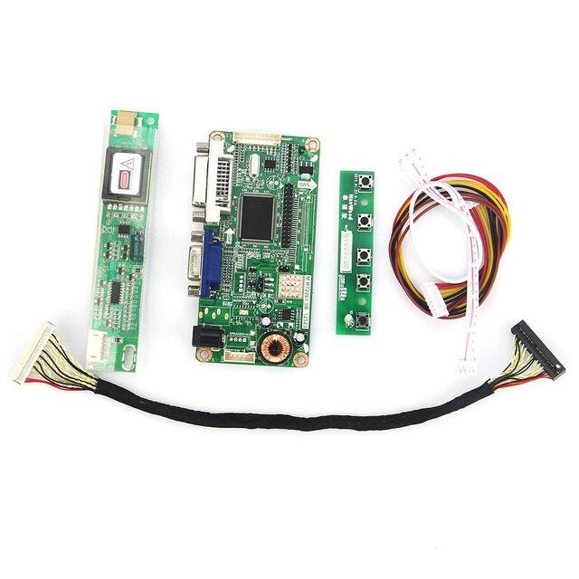 Для TM100SV VGA + DVI М. RT2261 М. RT2281 LCD/LED Драйвер Контроллера Совета LVDS Монитор Повторное Использование ноутбук 800x600