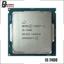 Intel Core i5-7400 i5 7400 3.0 GHz Dört Çekirdekli Dört Iplik CPU İşlemci 6 M 65 W LGA 1151