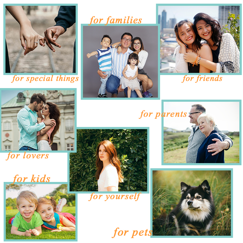 Personalized Crystal Photo Ball Customized Picture Sphere Globe Home Decor Accessories Baby Photo Gift for Girlfriend 6