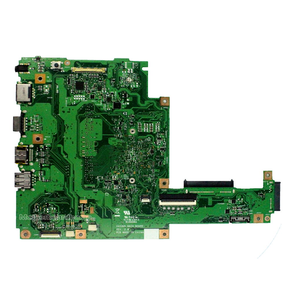 Купить с кэшбэком X453MA Motherboard REV2.0 N2930 CPU For ASUS X453MA X403MA X403M F453M Laptop motherboard X453MA Mainboard X453MA Motherboard