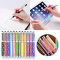5 pcs 2em1 bling cristal touch screen stylus pen para ipad kindle samsung s6/5 iphone 5/6/plus frete grátis