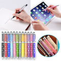 5pcs 2in1 Bling Crystal Touch Screen Stylus Pen For iPad Kindle Samsung S6/5 iPhone 5/6/Plus Free Shipping