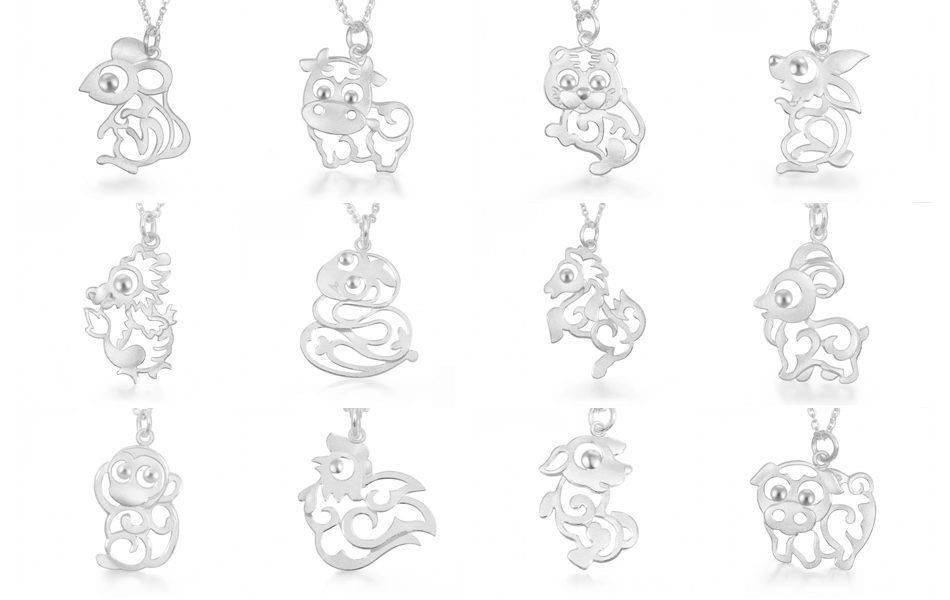 amp monkey london hires gold pendant silver en and charm sterling zodiac yellow vermeil of links chinese ca