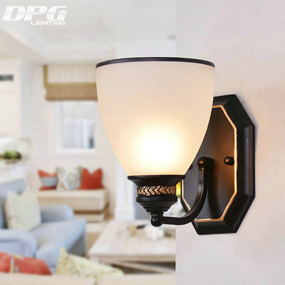 Led-Modern-Art-decoration-Iron-wall-lamp-indoor-lighting-wall-sconces-with-white-shade-for-bedroom-w983