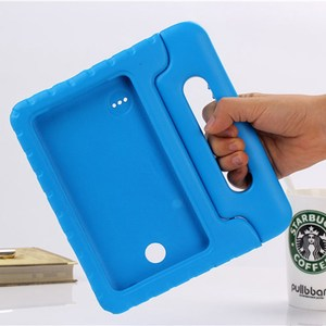 Image 3 - Case for Samsung Galaxy Tab 4 8.0 T330 T331 hand held full body Kids Children Safe Silicone for SM T330 SM T331 tablet cover