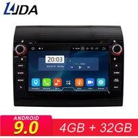 LJDA 1 Din Восьмиядерный Авто Радио Android 9,0 автомобильный dvd плеер для PEUGEOT 407 gps навигационное радио 4G + 32G стерео wi fi мультимедиа
