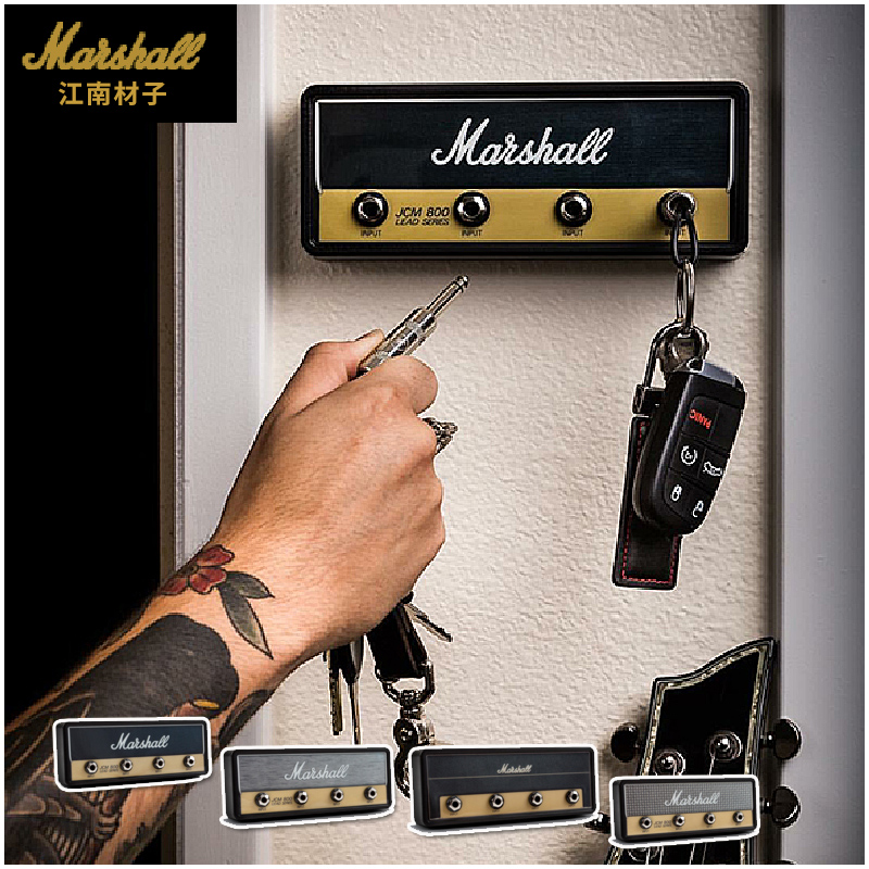 Pluginz Jack Rack Amp Vintage Guitar Amplifier Key Holder Marshall JCM800 1959SLP Friedman BE-100 INvader II Legato Ruckus 10x guitar amp amplifier knobs push on black gold cap for marshall amplifier