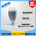 Epacket Dimmable CREE 21W Led globe Bulb E27 GU10 B22 E14 85-265V LED Light spotlight Bubble Ball Lamp lighting downlight bulbs