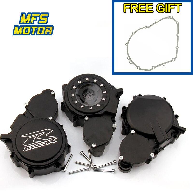 עבור 06-13 סוזוקי GSXR GSX-R 600 750 GSXR600 מנוע גלגל מכון Crank מקרה כיסוי אטם משלוח מתנה דפוק אופנוע אבזרים