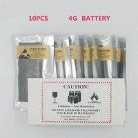 10 шт./лот Батарея Оригинальное Качество для iphone 4 4g 1420 3.7 В Подлинная 0 нулевой цикл замена запчастей
