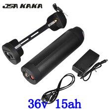 E-велосипед Батарея 36 В 15AH бутылка для воды использовать для Panasonic ячейки 18650 Li-Ion Батарея 36 В 500 Вт e-велосипед чайник Батарея с Зарядное устройство