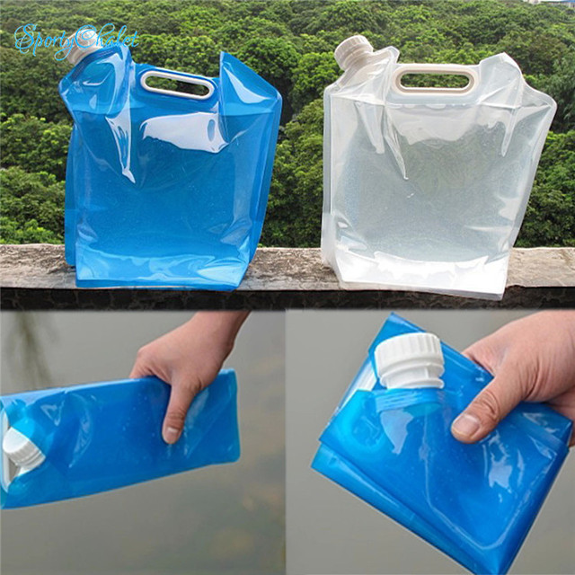SportyChalet 5L Blue Clear Outdoor Sports Collapsible Emergency
