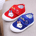2017 Spring Baby Shoes For Boys Children'S Canvas Shoes Soft Bottom Baby Girls Cartoon Cute Canvas Sneaker Kids Fashion Sneaker