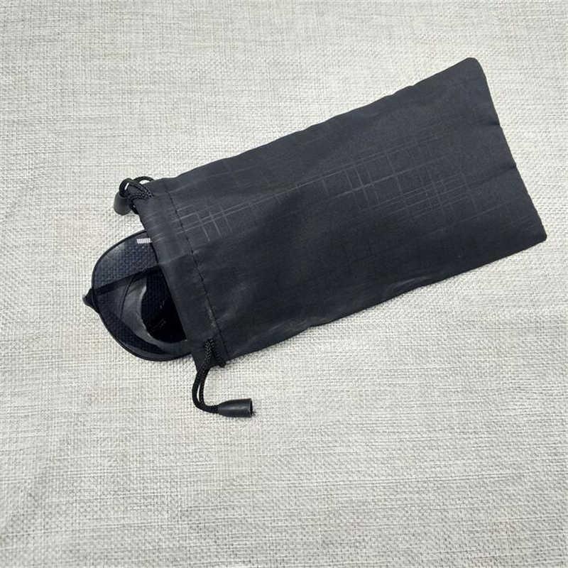 100 шт/партия мягкий водонепроницаемый микрофибра Гладкий футляр для солнечных очков футляр для очков черные цветные очки Чехол Оптовая Продажа хорошего качества
