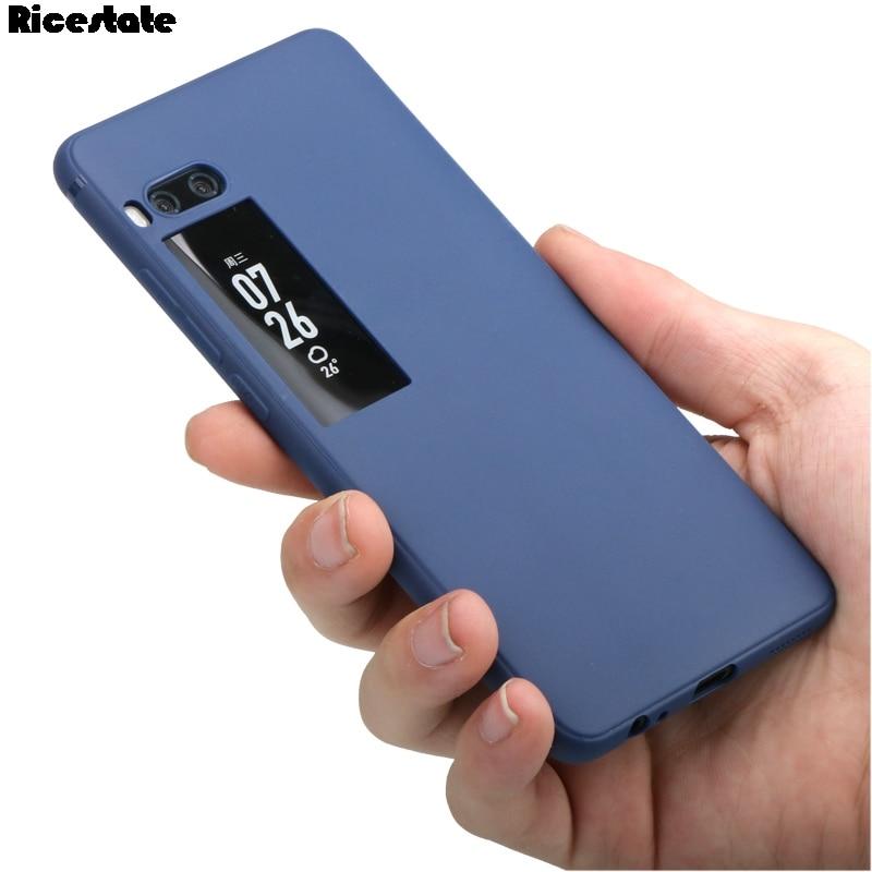 Meizu Pro 7 Plus Silicone TPU Cover case for Meizu Pro7  Plus Matte Solid colors Soft case