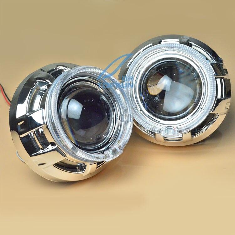 Lentille de projecteur bifocale Q5 originale de 3 pouces avec couvercle et yeux d'ange de 95mm, modèle de phare pour D1S, D2S, D3S, D4S, livraison gratuite