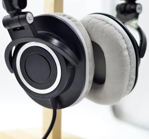 Image 3 - Defean Velvet Velour OVAL colour 3 Ear pads cushion replacement for Audio Technica ATH M40 ATH M50 M50X M30 M40 M35 SX1 M50 M50S