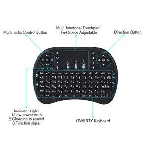 Image 2 - Touyinger חדש הגעה מיני i8 מקלדת אוויר עכבר מולטימדיה מרחוק Touchpad כף יד עבור מקרני אנדרואיד וטלוויזיה חכמה