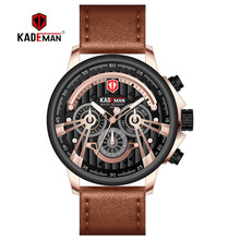 2019NEW Luxury Men Watch Sport Military Waterproof Wristwatch TOP Brand KADEMAN Business Male Date Clock Relogio Masculino