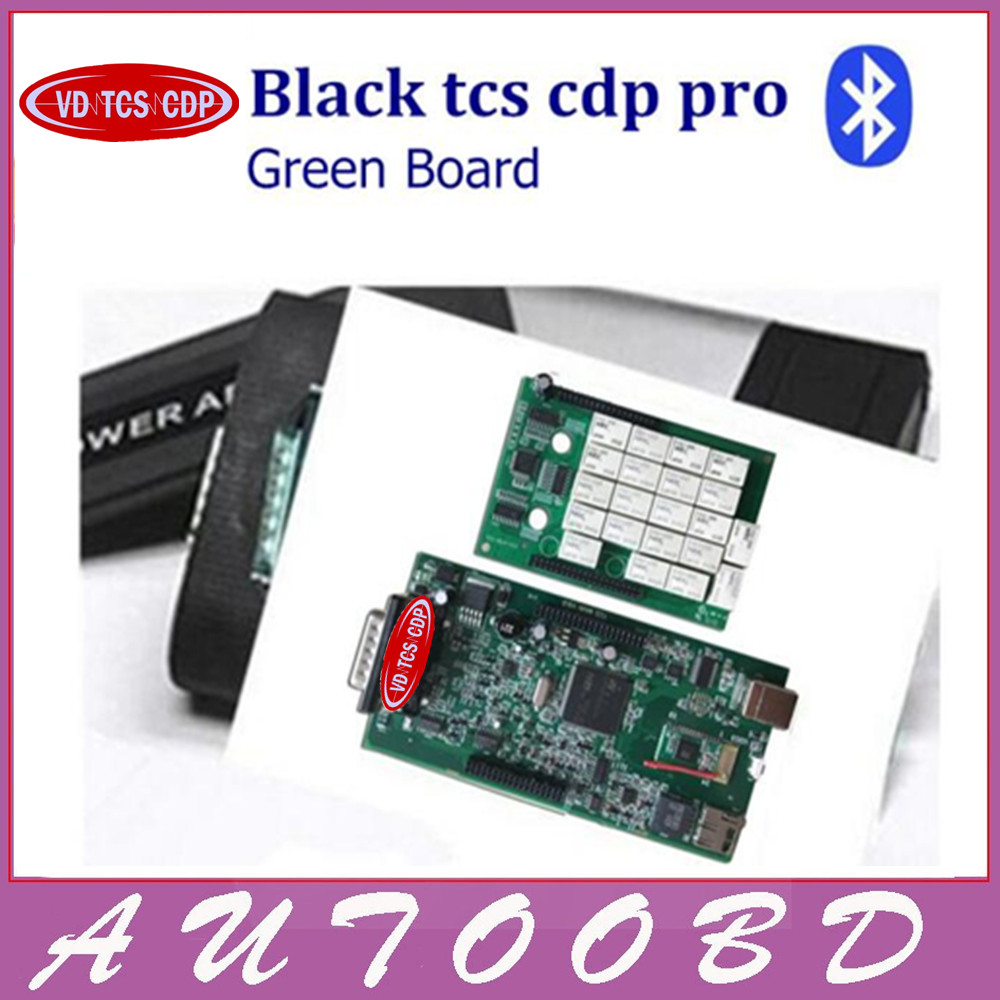 Подробнее о VD TCS CDP Pro Bluetooth +install video 2015.R3 with Keygen License Green Board nec relays auto diagostic tool for cars trucks green pcb nec relays tcs cdp pro new designed red multidiag pro bluetooth 2014 r3 kengen obdii cars