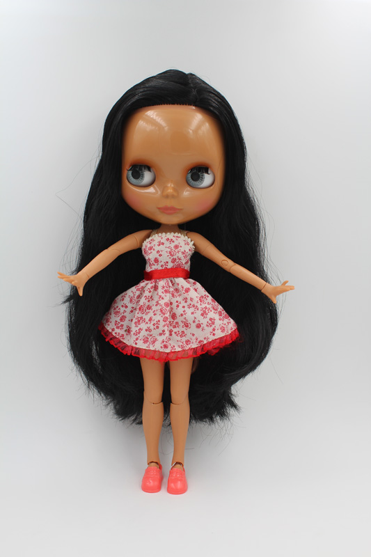 Free Shipping BJD joint RBL-232J DIY Nude Blyth doll birthday gift for girl 4 colour big eyes dolls with beautiful Hair cute toyFree Shipping BJD joint RBL-232J DIY Nude Blyth doll birthday gift for girl 4 colour big eyes dolls with beautiful Hair cute toy