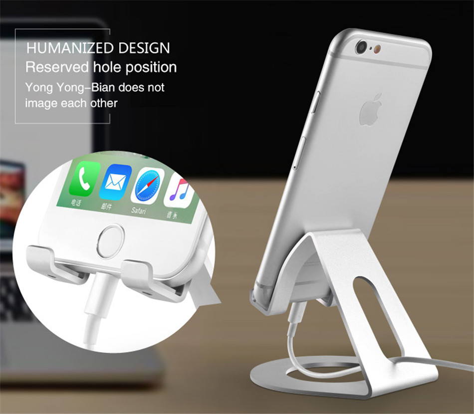 Metal Mobile Phone Holders Stands Universal Tablet Stand Desktop Holder For iPhone X 7 8 Plus For Samsung S9 Plus For Huawei (6)